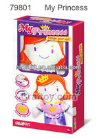 Art and Craft kit Design your own Doll Kit My Princess