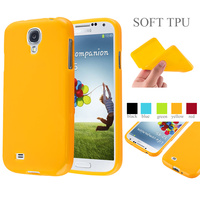 Jelly Glossy Silicon Soft Tpu Phone Case Back Cover For Samsung Galaxy S4/ S4 Mini
