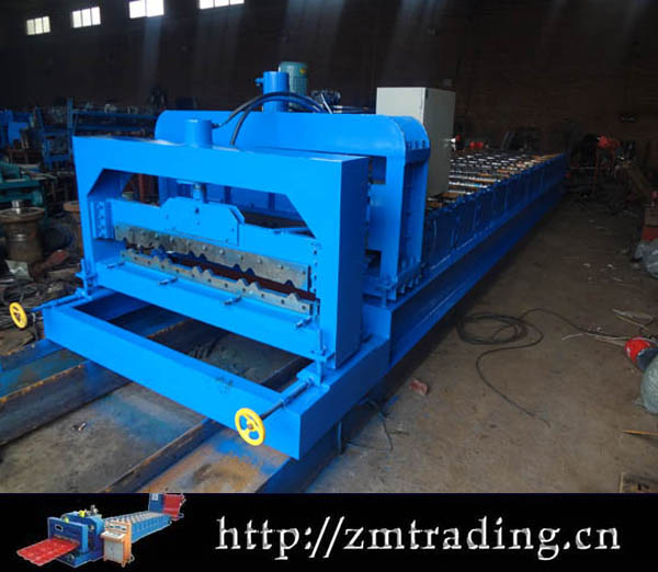 Forming Machine For Straight and Tapered Standing seam Roofing