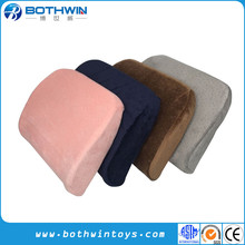 Custom Memory Foam Stuffed Car Seat Driver Lumbar Support Cushion
