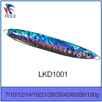lead vertical jig fishing lure