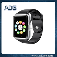 Second Generation Bluetooth MTK6260A G10 android 4.4 smart watch with 3D G-Sensor