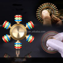 Spinner Fidget Special Brass Type New Toy EDC Hand Finger Spinner Desk Focus