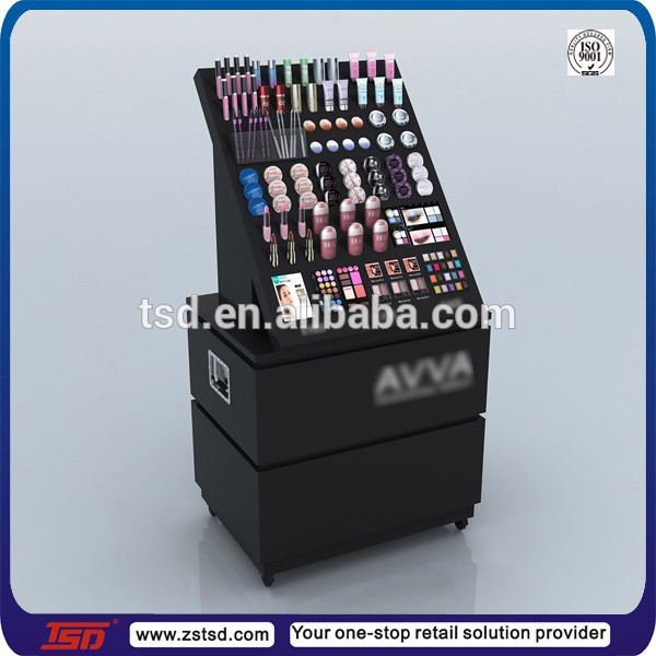Expo Stands Eyeshadow : Tsd w cosmetic display rack acrylic make up