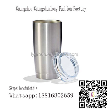 double wall 20 oz stainless steel tumbler,Logo Customized Stainless Steel Mug with sliding lid