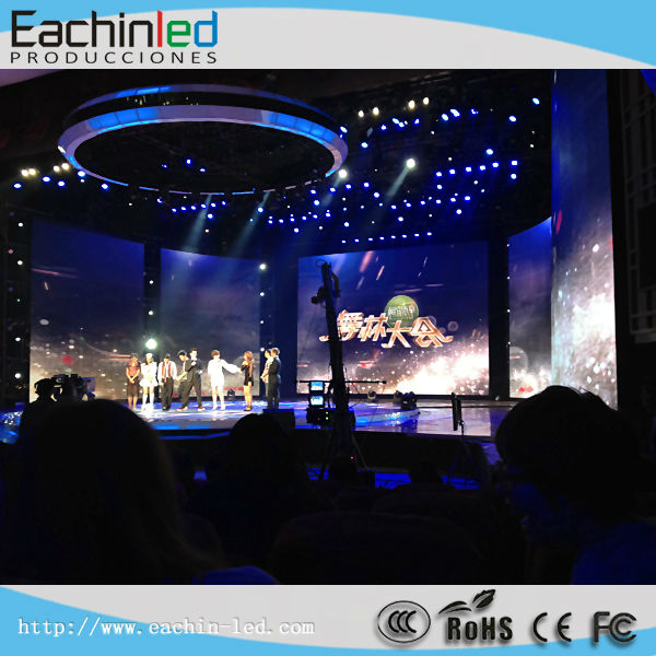 HD P5 P4 P3 indoor LED video wall/ledwall and video processor for Shows