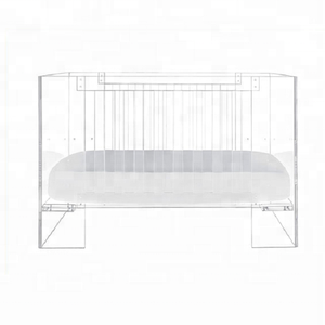 Luxury Acrylic Baby Crib Without Shipping Cost