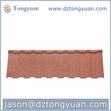 Eco-friendly Fire-Resistant stone coated roofing tile hot sale in Africa China factory