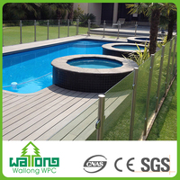 Eco timber wpc wood plastic composite decking prices hollow plaza tiles