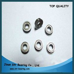 Fishing Gear Bearings stainless steel bearing MF52ZZ 2*5*2.5mm flange miniature ball bearing MF52ZZ