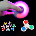 2017 original fidget EDC finger led hand spinner with ceramic bearing