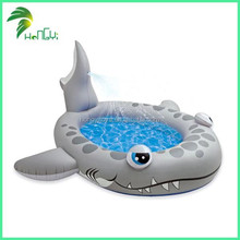 Inflatable kids Shark Cartoon Pool