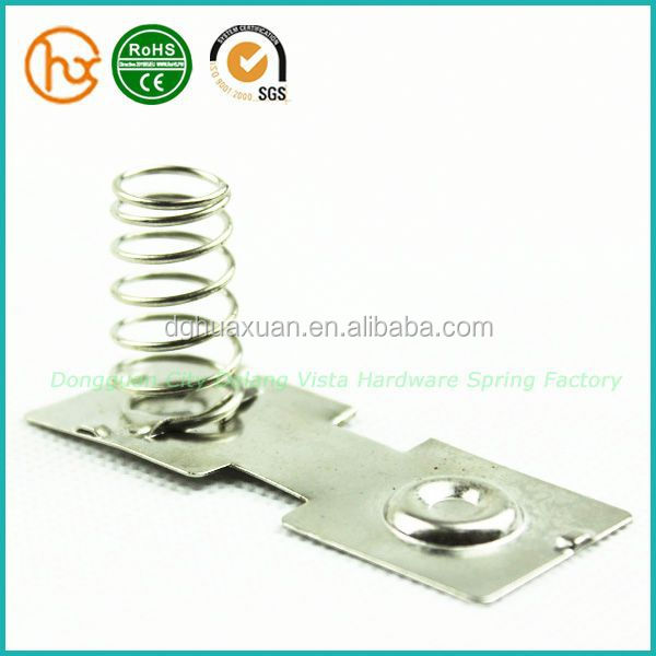 Different types remote control battery spring