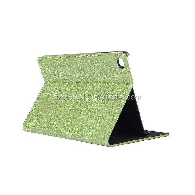 Brand new China factory flip leather tablet case for ipad pro