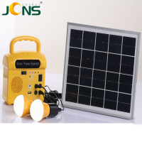 New green energy for home use DC 10w solar lighting kit