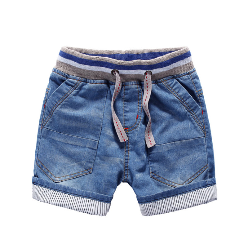 Baby denim capris 2015 summer male child children's clothing shorts child knee-length pantsboys shorts for girls children jeans