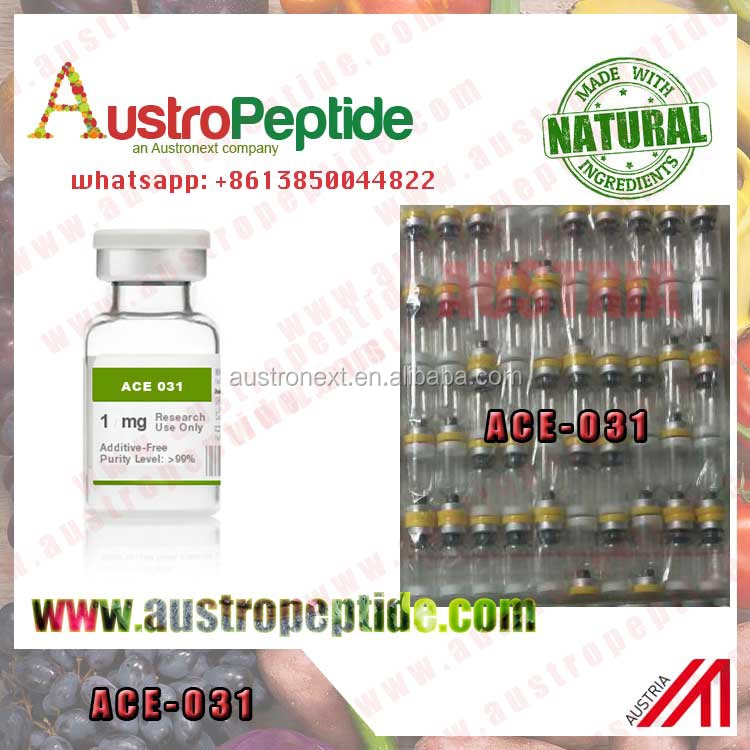 Ace031 99% Purity Weight Loss Peptide AUSTROPEPTIDE ACVR2B peptide 10mg ACE 031 1mg ACE-031 5mg