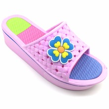 New ladies slippers wholesale flip flop China factory directly price high heel cute and lovely womens slipper shoes