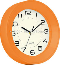 Plastic Wall Clock Simple Wall Clock Round Wall Clock