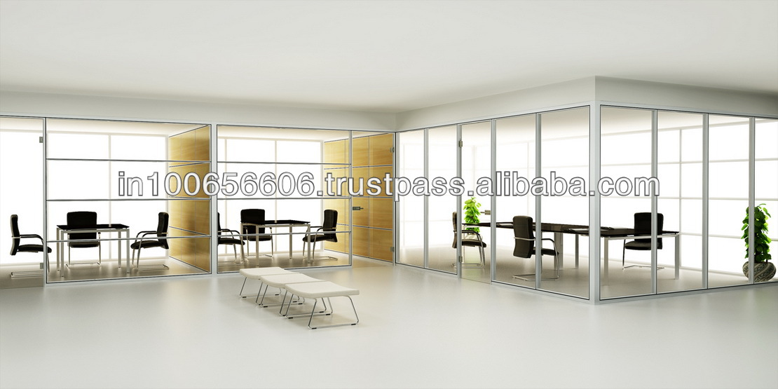 HK85 full height partition folding office partition door