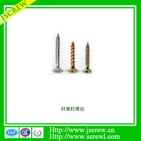 M2 M3 galvanized decorative cross Flat head Chipboard Screw