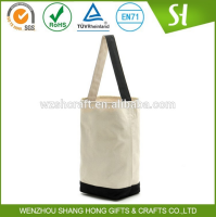 Recyclable eco cotton shopping bag/custom plain cotton clothing bag wholesale
