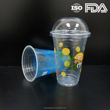 Chinese Supplier Top Quality 17oz(500ml) Disposable Plastic Shakes Cup with FDA Certificate