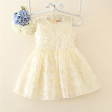 Wholesale baby handmade smocked dress christening gowns for girls