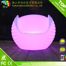 Night Club Lighting bar glowing illuminated led light chair/color changes LED colorful chair