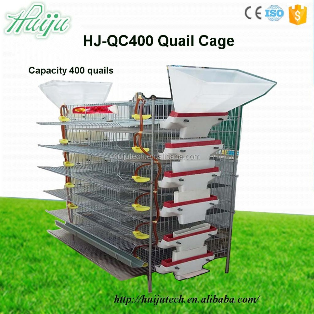 High quality ! chicken farm machine pet cage with large capacity wire cage / poultry cage / quail cages for sale HJ-QC400