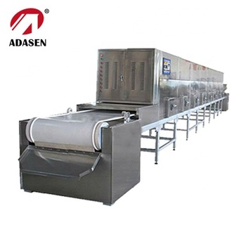 China supplier conveyor belt microwave drying machine for ceramic filter screen
