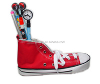 Shoe shaped pencil case/stationary pen bags/red pen pouch