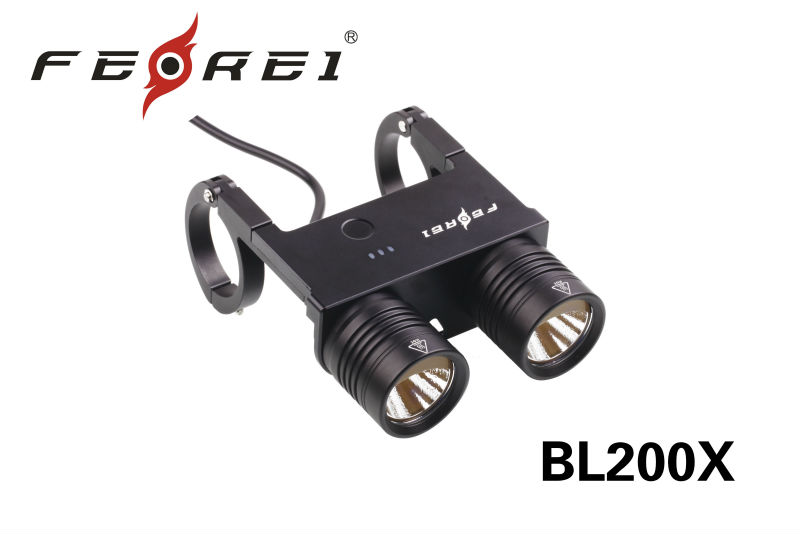 Upgraded model Cree led bicycle light BL200X special design for professional riding