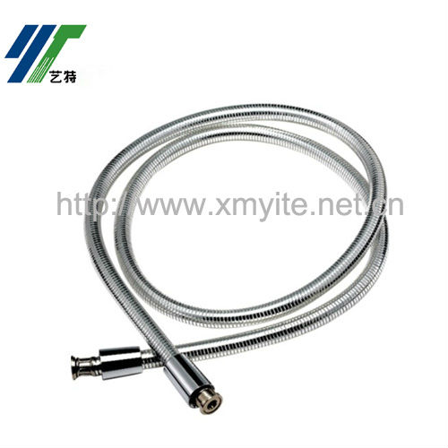 Clear PVC Silver Wire Flexible Shower Pipe