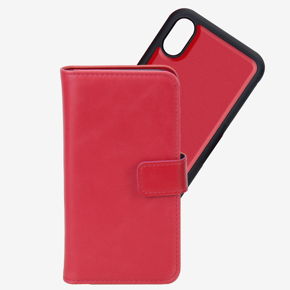 Mobile Phone Detachable Magnets Wallets Case for iPhone 8