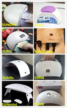 Sunone SUN2 SUN5 SUN6 SUN8 Newest 48W LED UV Nail Lamp with Sensor