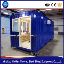 Beautiful modern container house for living, container house with wheels