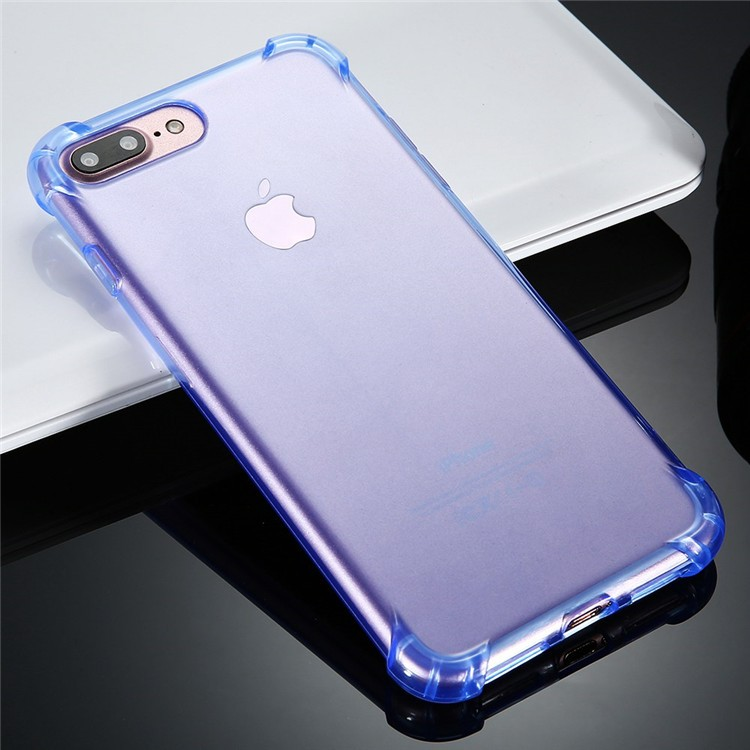 For apple iphone 7 case Anti-knock TPU Transparent Clear Back Cover Full Protective for iphone 6s 7 plus