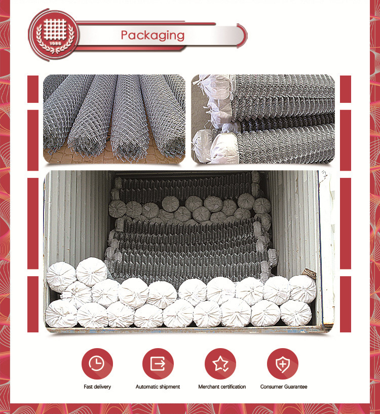 BLACK UV treated PVC coated chain Link fence mesh