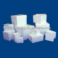 Styrofoam Insulated Shipping Cooler Packaging Pack Foam Container Box Ice