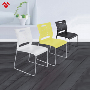 Outside door furniture Simple Design Cheap Stackable Modern Plastic Chair