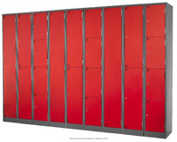 Steel 4 Compartment Single door steel cupboard designs bedrooms Column Locker Malaysia