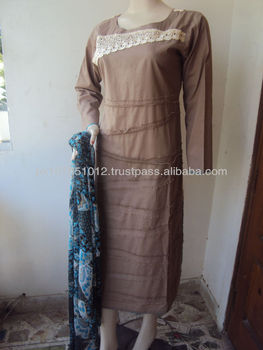 Pakistani cotton Dresses 2013