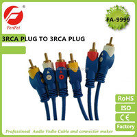 3rca to 3rca rca cable