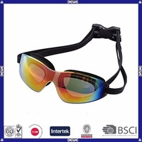 water proof anti-fog wide vision swimming goggles