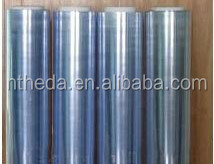 Plastic PVC white film 0.06mm for transparent packing material
