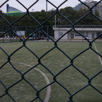 temporary chain link fence cyclone wire fence philippines with pvc coated