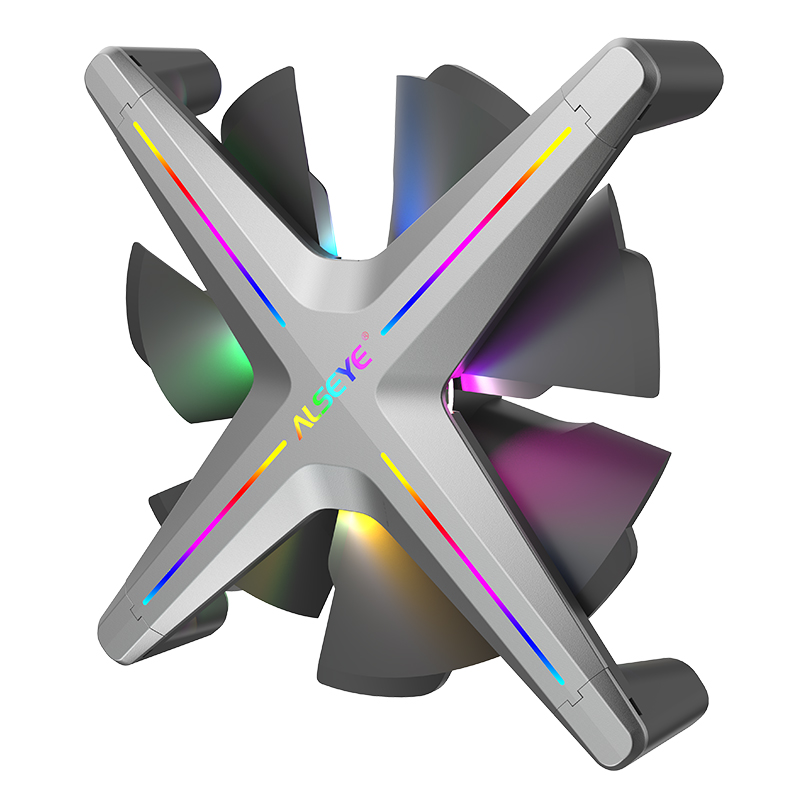 Alseye X 120 Computer <strong>Case</strong> Fan 120mm LED Silent Fan for Computer <strong>Cases</strong>, CPU Coolers, and Radiators