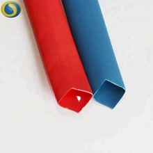 Waterproof dual wall heat shrink tube with adhesive for automotive fuel line