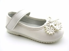 2016 white flower lovely cute girls infant shoes